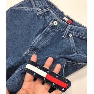 a9c6b171 Tommy Hilfiger. Tommy Hilfiger VTG 90's Spell Out Carpenter Jeans